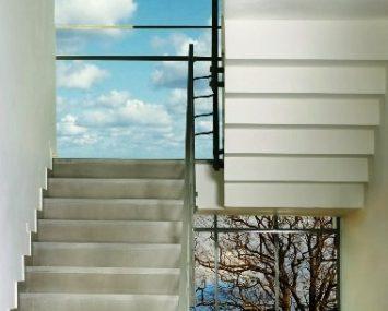 מדרגות לבית שיש סי גריי