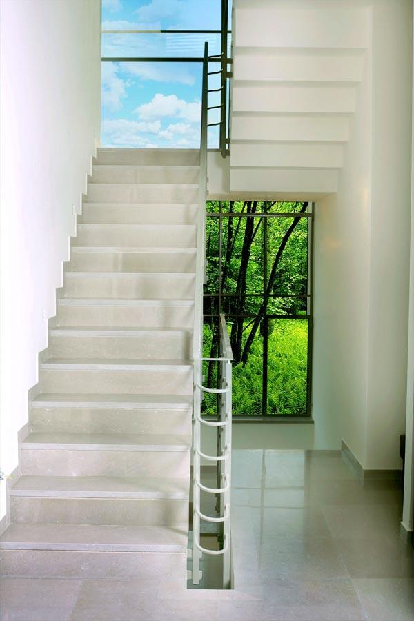 מדרגות לבית דגם סי גריי