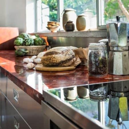 משטח שיש טבעי למטבח